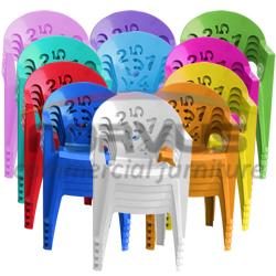 Sillas de plastico infantiles de color
