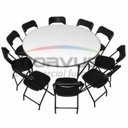 Venta de sillas y mesas plegables NORVUS