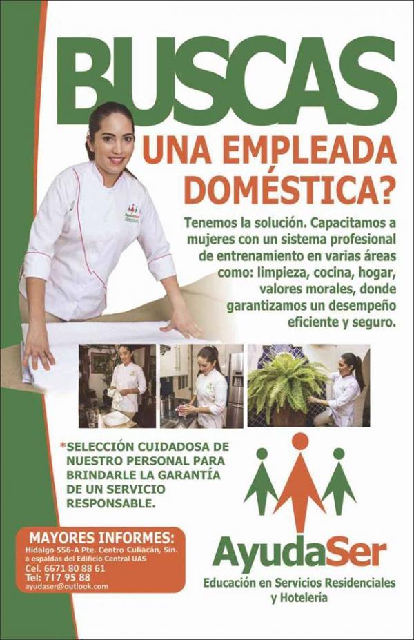 Empleada domestica mensual empleada domestica ofertas de for Nomina empleada de hogar 2015 modelo