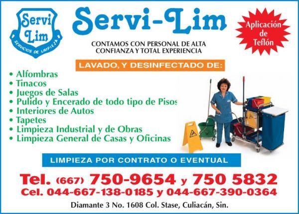 servi lim servicios de limpieza sección naranja letra k l
