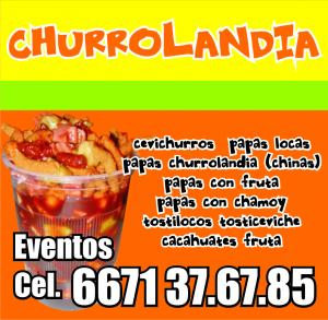 CHURROLANDIA.. Cevichurros, Papas Locas, Cacahuates, Fruta y MAS ... Culiacan, Sin.